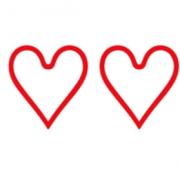 Et hjerte ud af 5 mulige for kundeservive oplevelse